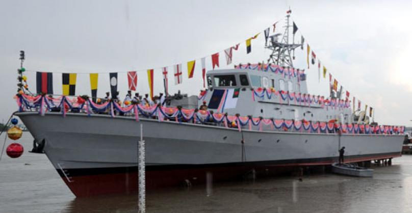 Bangladesh builds two more warships