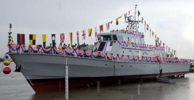 Bangladesh builds two more warships